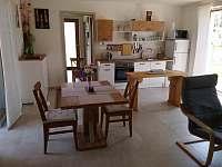 Obývací pokoj - pronájem chalupy Brod nad Dyjí