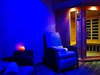Infrasauna s relaxační částí - apartmán k pronájmu Kyjov
