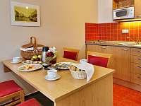 Snídaně s donáškou na pokoj - apartmán ubytování Kyjov