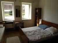 chalupa 2 ložnice (4 pevne postele + možna přistylka)