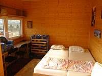 chata - dvojpostel + 1 rozkládací postel