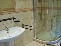 Koupelna Červený apartmán