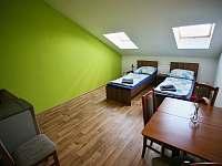 Apartmán s terasou - zadní pokoj s lednicí, TV, wi-fi. - Sedlec u Mikulova