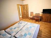 Dvoulůžkový s koupelnou, lednicí, TV a wifi. - ubytování Sedlec u Mikulova