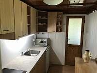 Kuchyně - chata ubytování Jedovnice