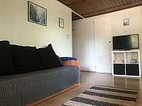 Obývací pokoj - chata k pronajmutí Jedovnice