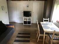 Obývací pokoj - chata ubytování Jedovnice