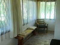 Veranda - chata k pronajmutí Jedovnice