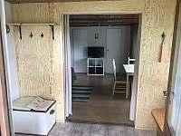 Vstup z verandy do obývacího pokoje - Jedovnice
