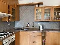 Kuchyň - apartmán k pronajmutí Uherské Hradiště