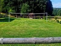 Badmintonové hřiště v mezinárodním rozměru. - pronájem chaty Hostěnice