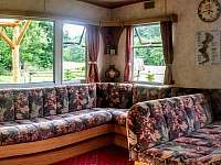 Panoramatický snímek obývacího pokoje