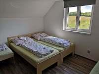 Pokoj A - chata ubytování Mutěnice