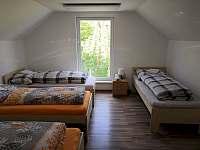 Pokoj B - pronájem chaty Mutěnice
