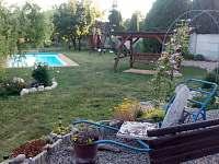 chalupa č.2 zahrada - k pronajmutí Bořetice