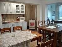 kuchyně+jídelna chalupa č.1 - Bořetice