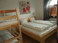 4 - lůžkový pokoj přízemí