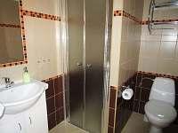 Sociální zařízení se sprchou na všech pokojích