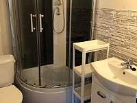 Koupelna s toaletou - chata ubytování Šakvice