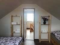 Ložnice se 4 lůžky - chata k pronajmutí Šakvice