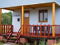 Veranda s posezením - chata k pronájmu Šakvice