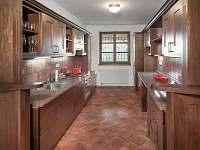 Kuchyně - pronájem chalupy Horní Věstonice