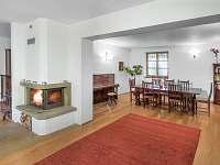 Obývací pokoj - chalupa k pronajmutí Horní Věstonice