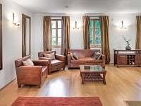 Obývací pokoj - chalupa k pronájmu Horní Věstonice
