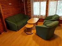 společenská místnost - chata k pronajmutí Pístovice