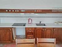 kuchyn - ubytování Jevišovka