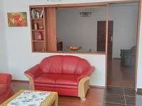 obývací pokoj - ubytování Jevišovka