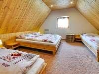 Ubytování čtyřlůžkový pokoj