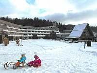 Activitypark Hotel Všemina - zima - apartmán ubytování Všemina (Slušovice)