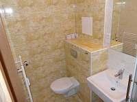 Soukromý apartmán č. 6 - koupelna, WC