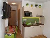 Soukromý apartmán č. 6 - kuchyňský kout - k pronájmu Všemina (Slušovice)