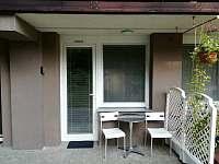 Soukromý apartmán č. 6 - terasa apartmánu - Všemina (Slušovice)