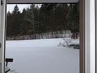 Soukromý apartmán č. 6 - výhled na terasu a k lesu - pronájem Všemina (Slušovice)