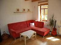 Obývací pokoj - chalupa ubytování Ždánice
