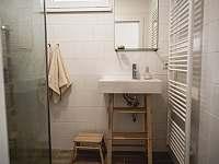 Ubytování na Lontu - koupelna - apartmán k pronajmutí Němčičky