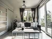 Ubytování na Lontu - obývací část - Němčičky