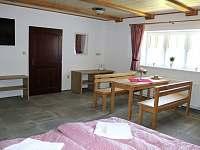 apartmán č. 1 v přízemí - chalupa k pronajmutí Petrovice