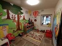 dětský pokojík - herna - chalupa k pronajmutí Petrovice