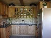 Kuchyně - chalupa k pronajmutí Petrovice