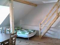 obývací část apartmán