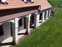 Penzion Dolní Dunajovice - pohled z apartmánu