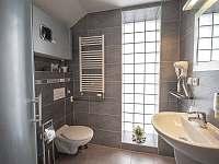Koupelna pokoj typu studio - vila k pronajmutí Blatnička
