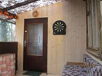 Krytá veranda - pronájem chaty Bítov - Kopaninky