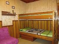 Ložnice 1. - chata k pronájmu Bítov - Kopaninky
