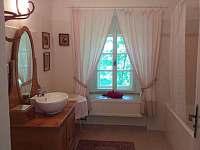 koupelna - apartmán k pronájmu Houska
