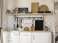 kuchyňka apartmánu Korce -